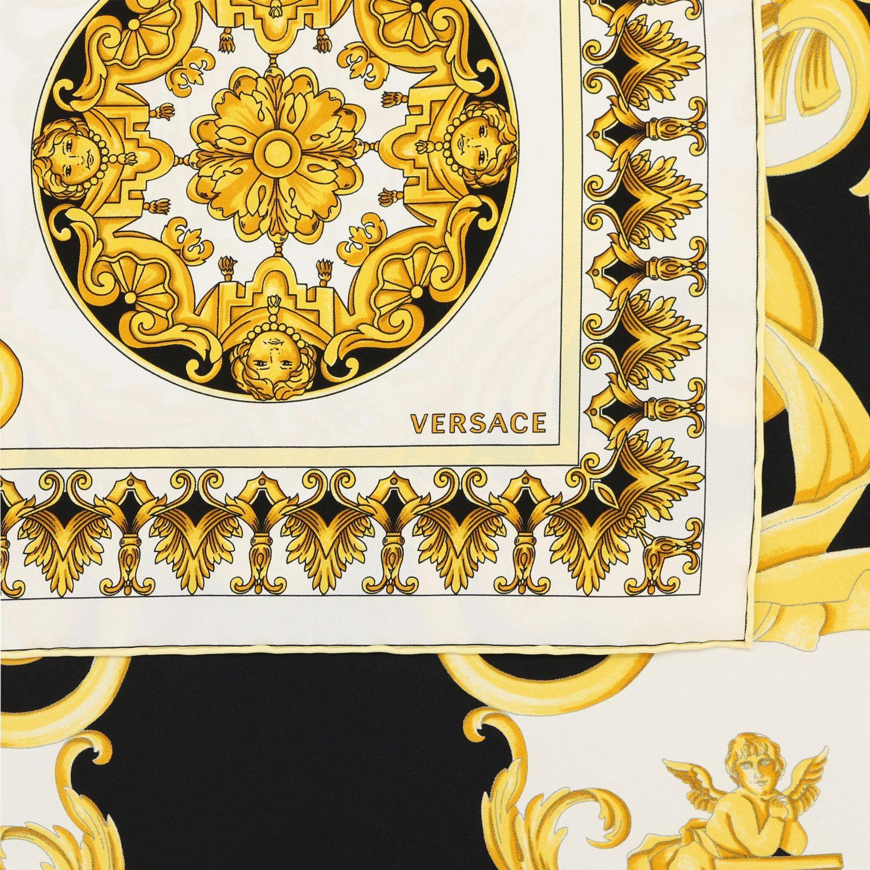 Bufanda mujer Versace blanco 3