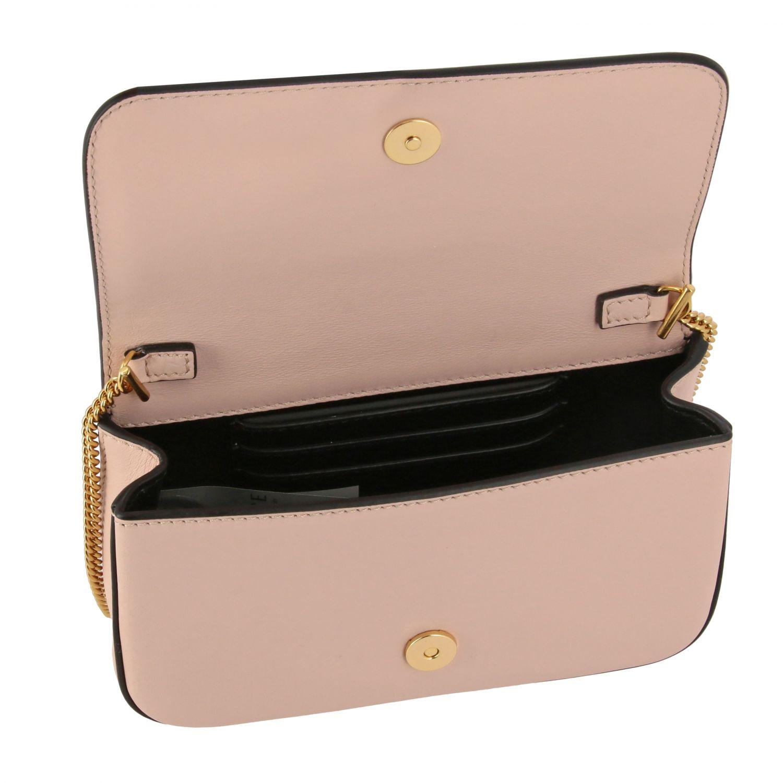 Virtus Versace leather bag with monogram pink 5