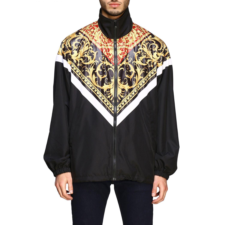 Jacket men Versace black 1
