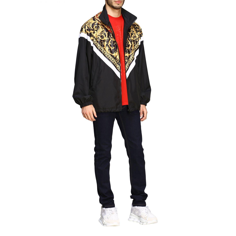 Jacket men Versace black 2