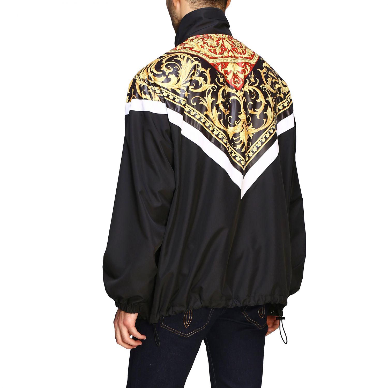 Jacket men Versace black 3