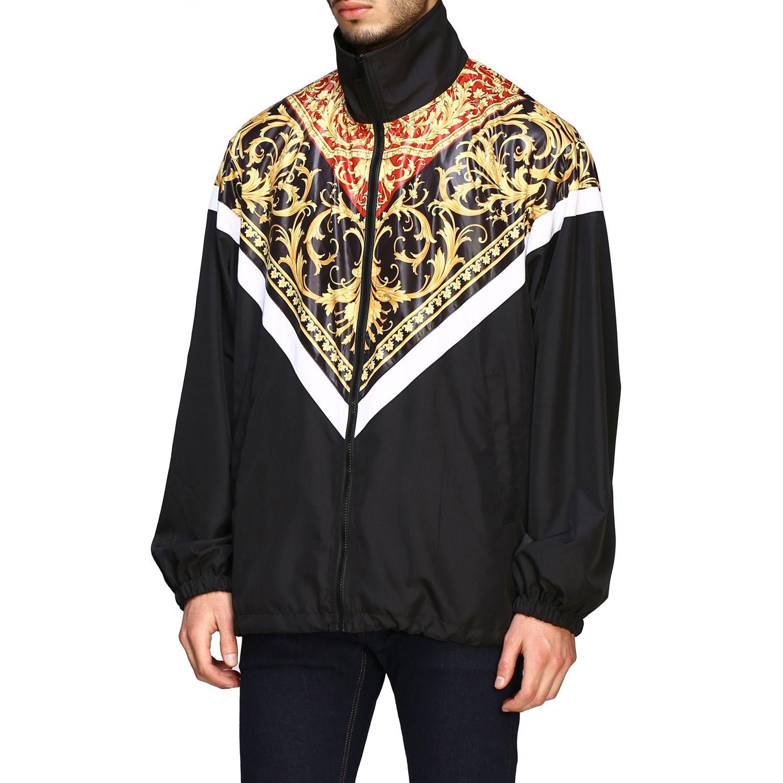 Jacket men Versace black 4