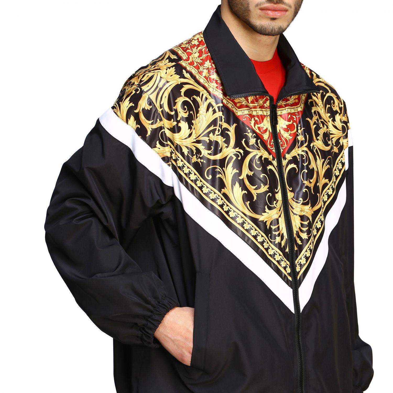 Jacket men Versace black 5