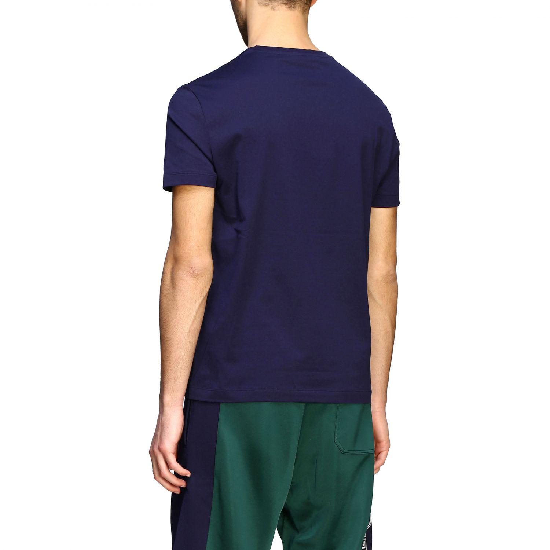 T-shirt Versace a maniche corte con firma Gianni Versace blue 3