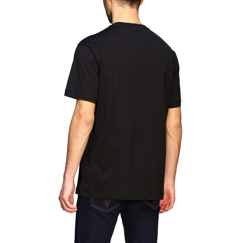 T-shirt Versace a maniche corte con big testa di medusa nero 3