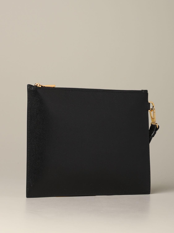 Bolso hombre Versace negro 2
