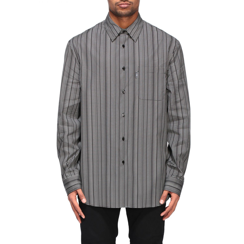 Shirt men Versace black 1