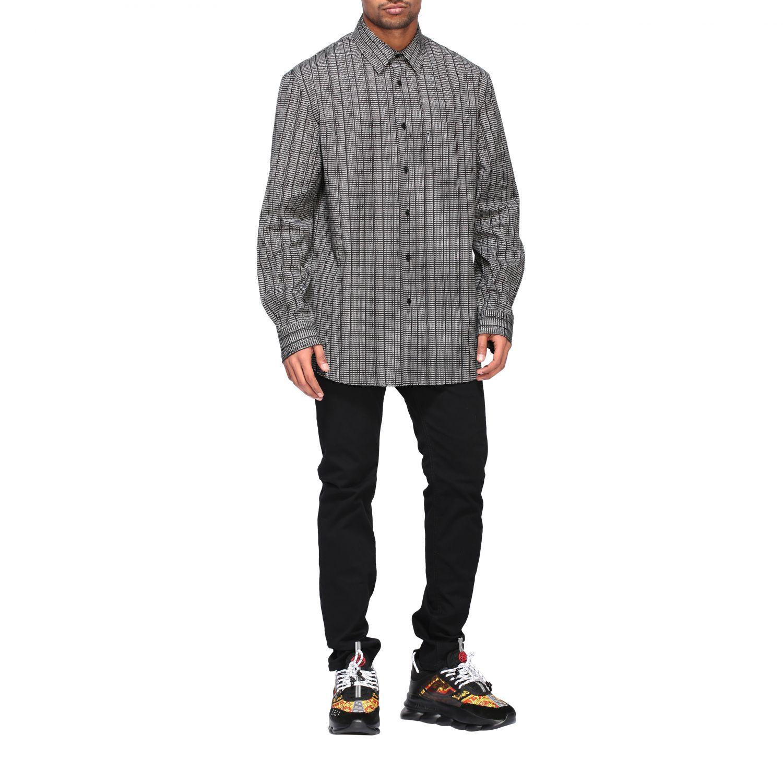 Shirt men Versace black 2