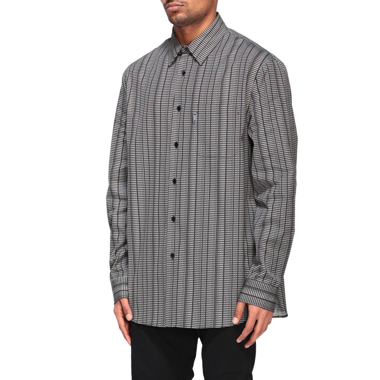 Shirt men Versace black 4