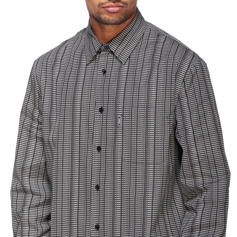Shirt men Versace black 5