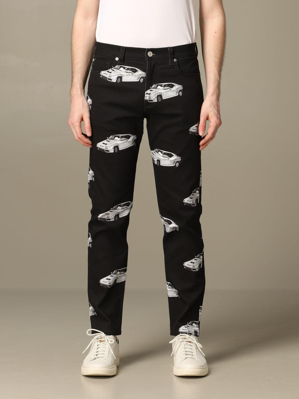 Jeans men Versace black 1