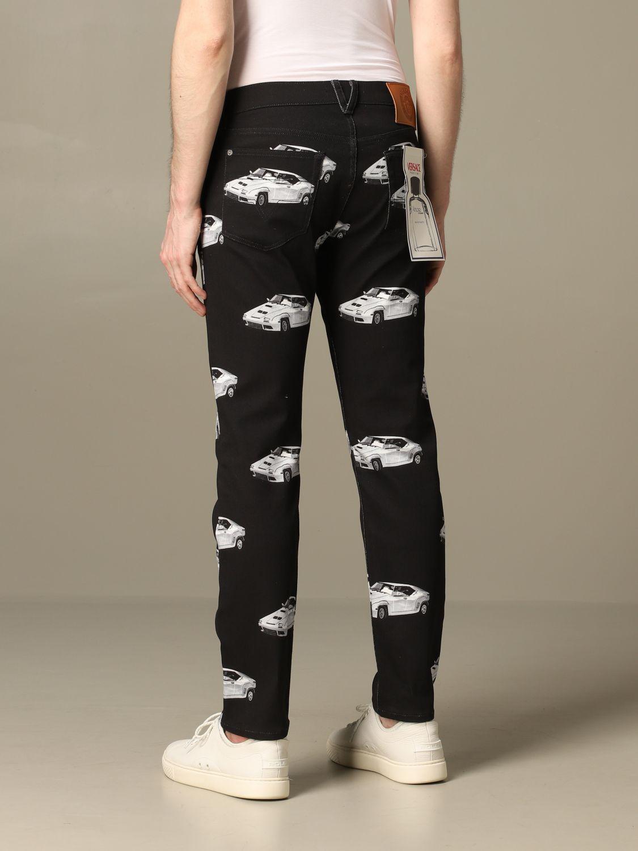Jeans men Versace black 2