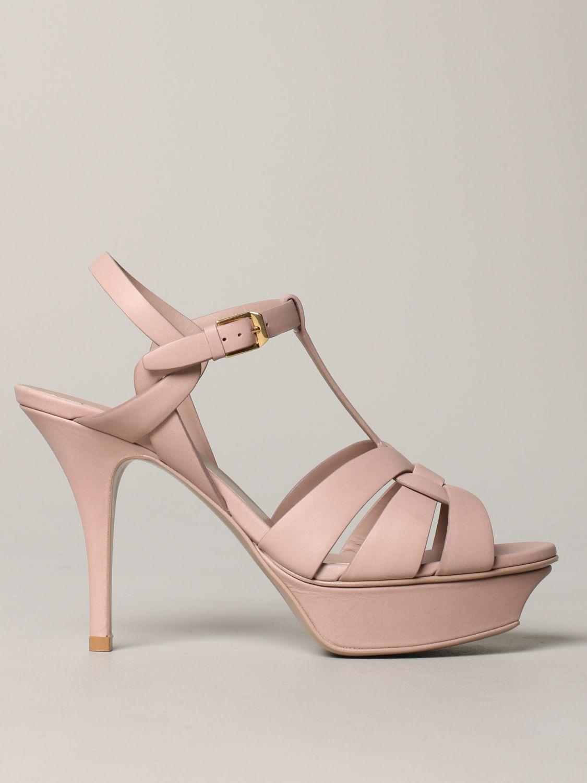 Shoes women Saint Laurent blush pink 1