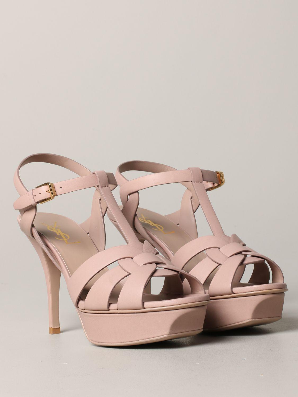 Shoes women Saint Laurent blush pink 2