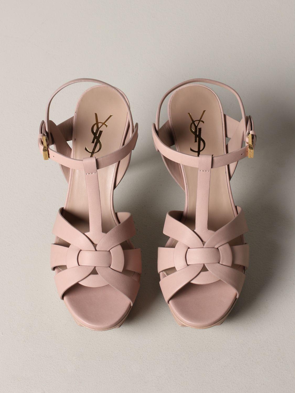 Shoes women Saint Laurent blush pink 3