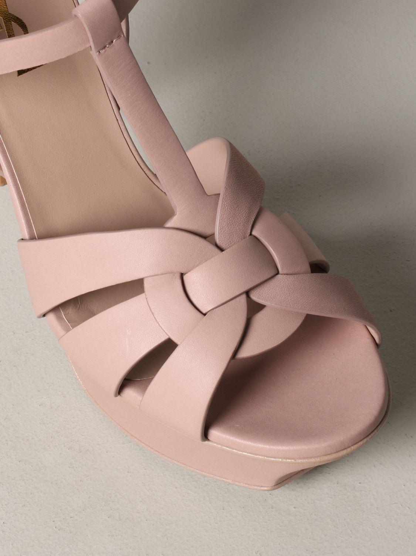 Shoes women Saint Laurent blush pink 4