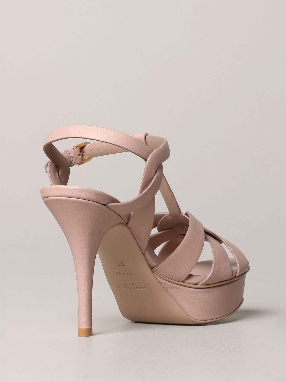 Shoes women Saint Laurent blush pink 5