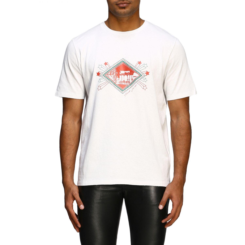 T-shirt men Saint Laurent white 1