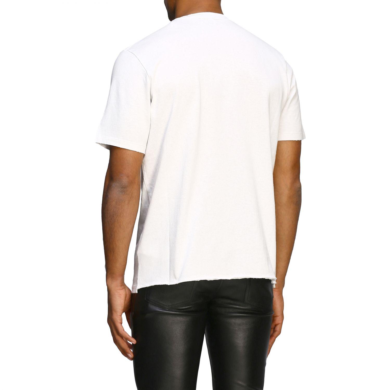 T-shirt men Saint Laurent white 3