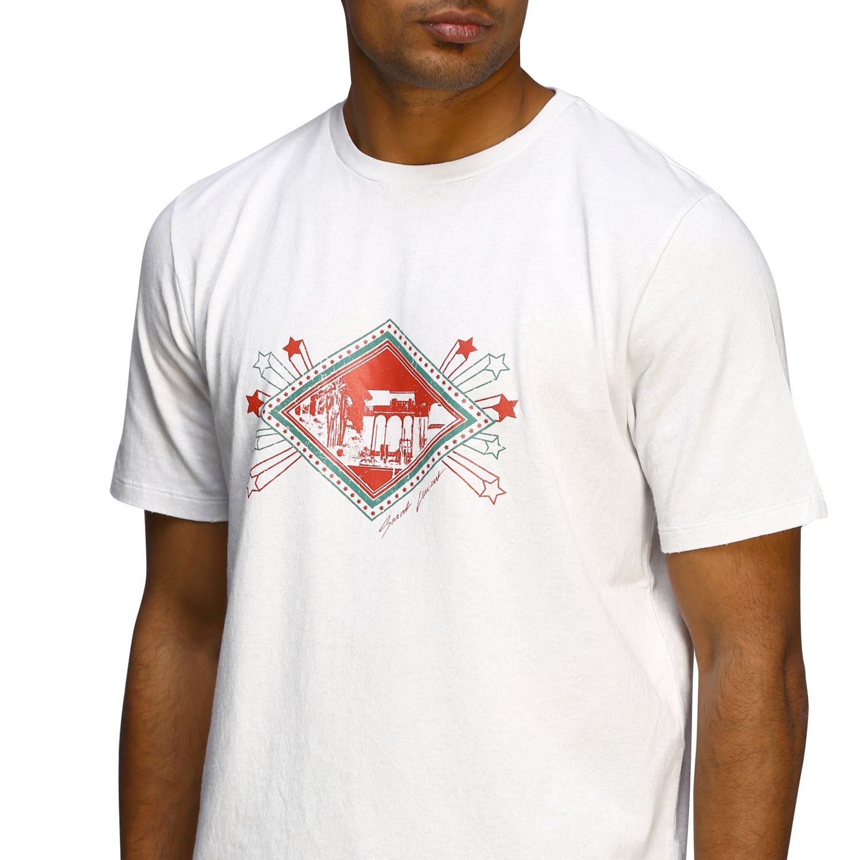 T-shirt men Saint Laurent white 5