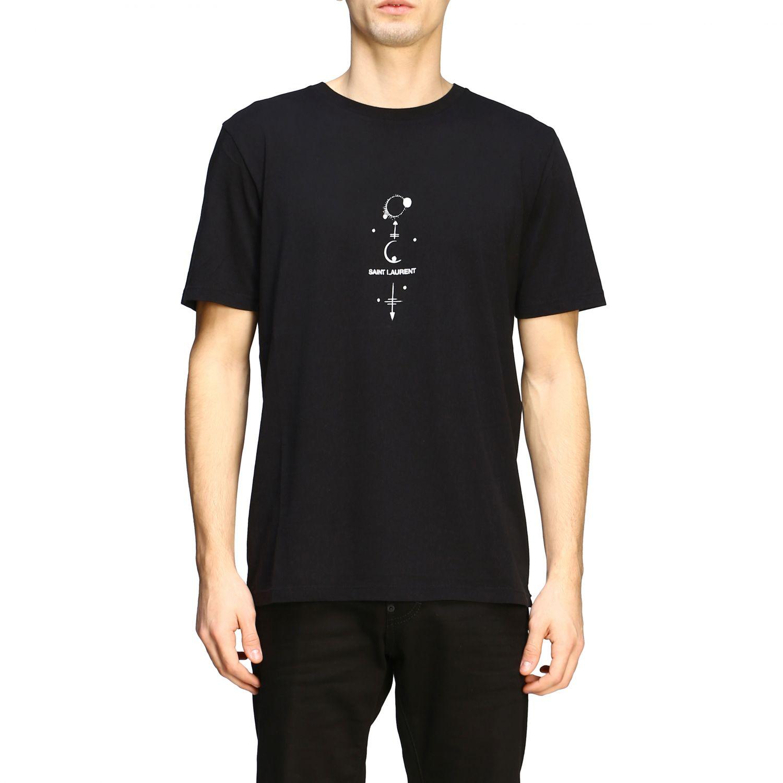 t shirt saint laurent mens