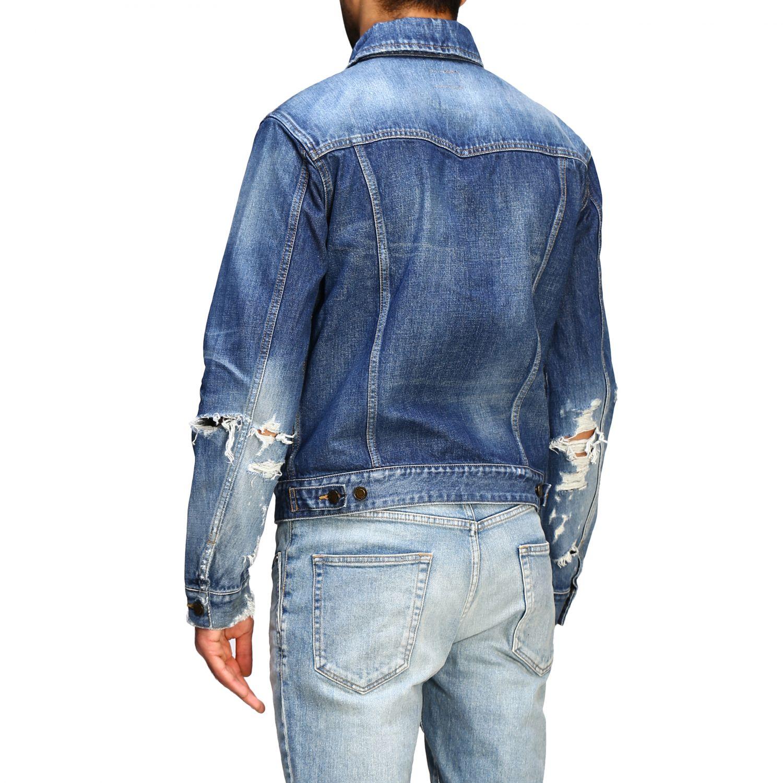 Jacket men Saint Laurent denim 3