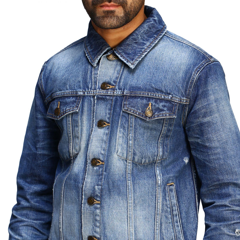 Jacket men Saint Laurent denim 5
