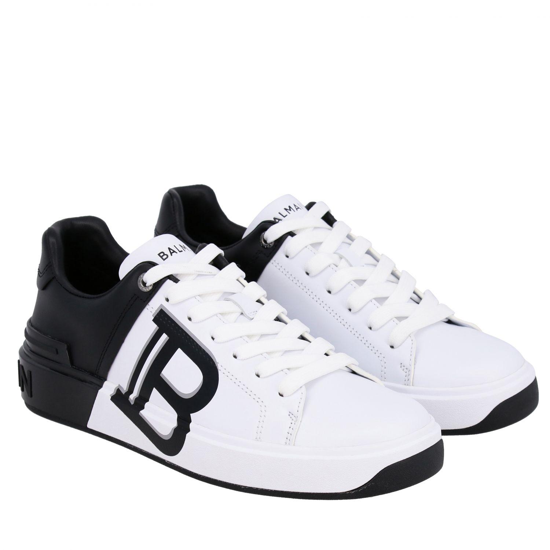 Sneakers Balmain: Shoes women Balmain white 2