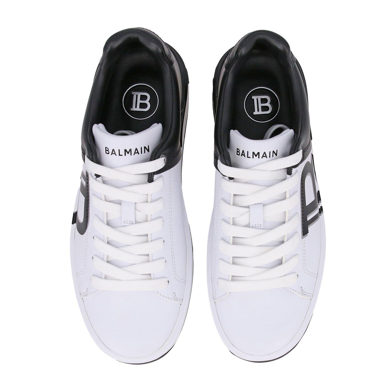 Sneakers Balmain: Shoes women Balmain white 3