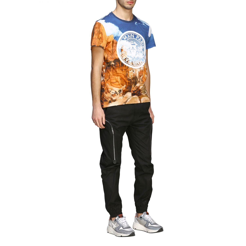 T-Shirt Balmain: Balmain T-Shirt bedruckt mit Logo bunt 2