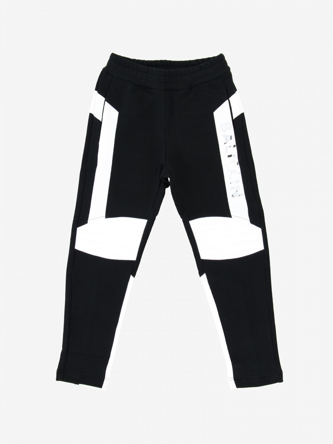 Balmain jogging trousers with prints black 1