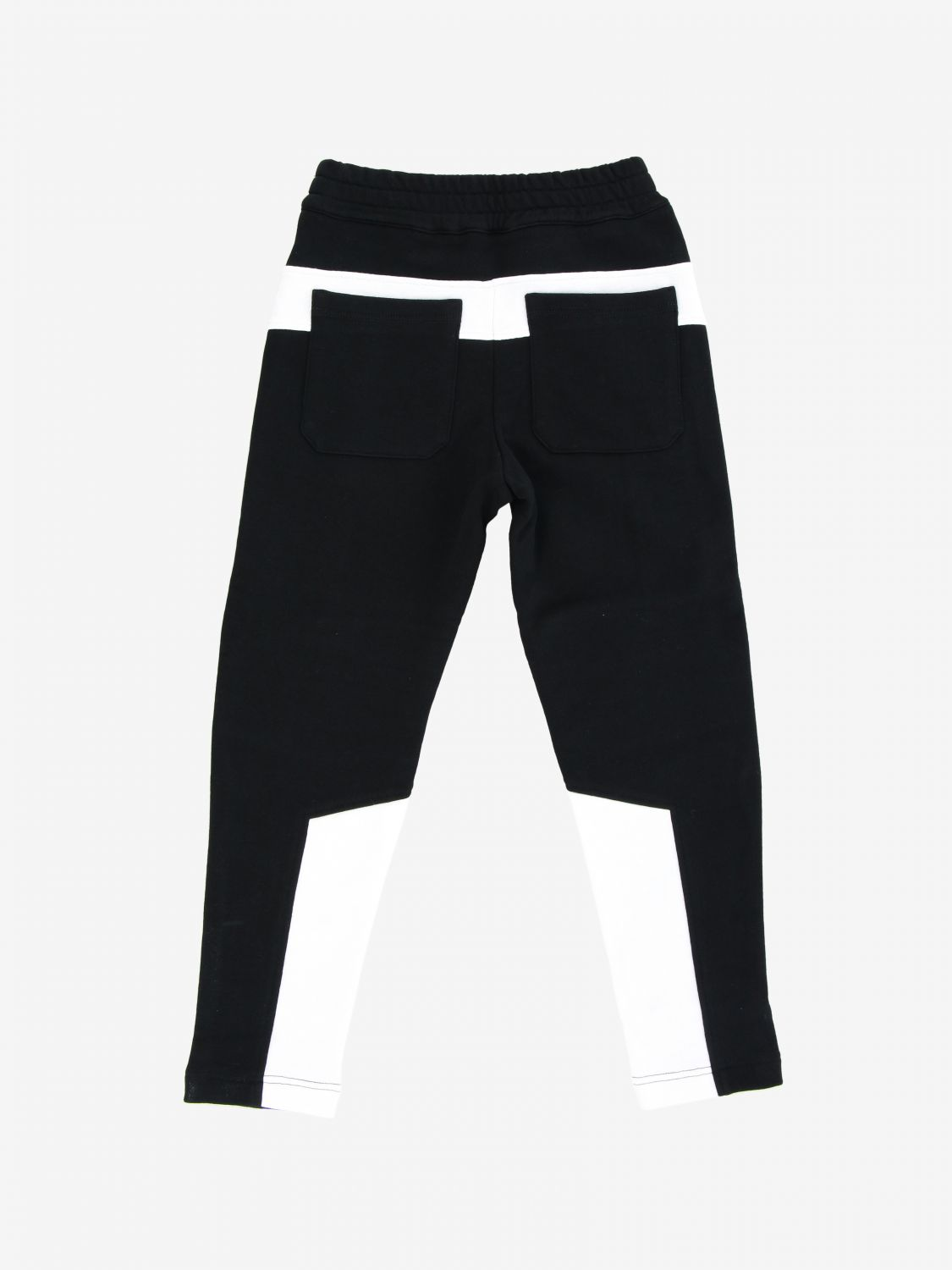 Balmain jogging trousers with prints black 2