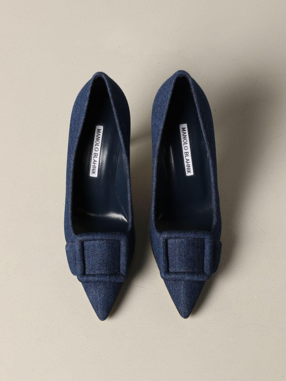 鞋 女士 Manolo Blahnik 牛仔布 3