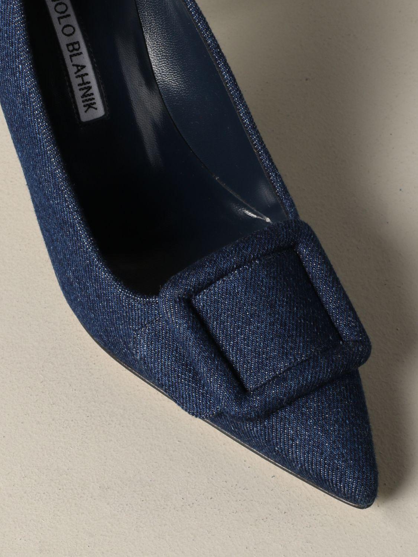 鞋 女士 Manolo Blahnik 牛仔布 4