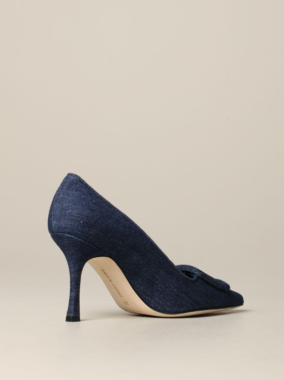 鞋 女士 Manolo Blahnik 牛仔布 5