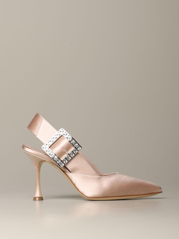 Shoes women Manolo Blahnik nude 1
