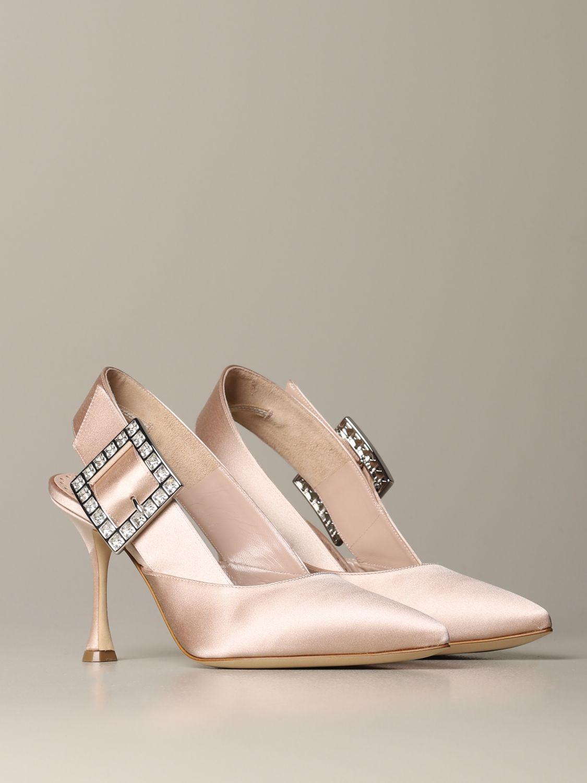 Shoes women Manolo Blahnik nude 2