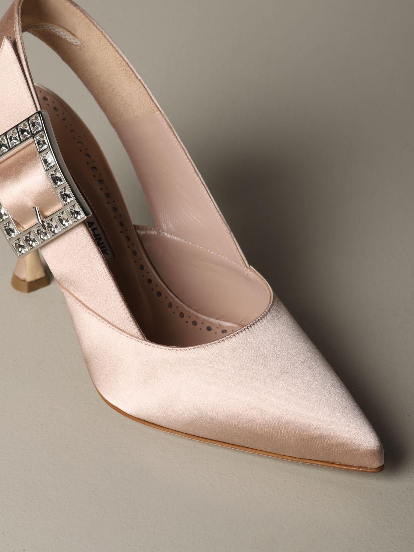 Shoes women Manolo Blahnik nude 3