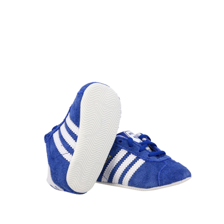 Baskets Gazelle Crib Adidas Originals en daim et cuir bleu royal 2