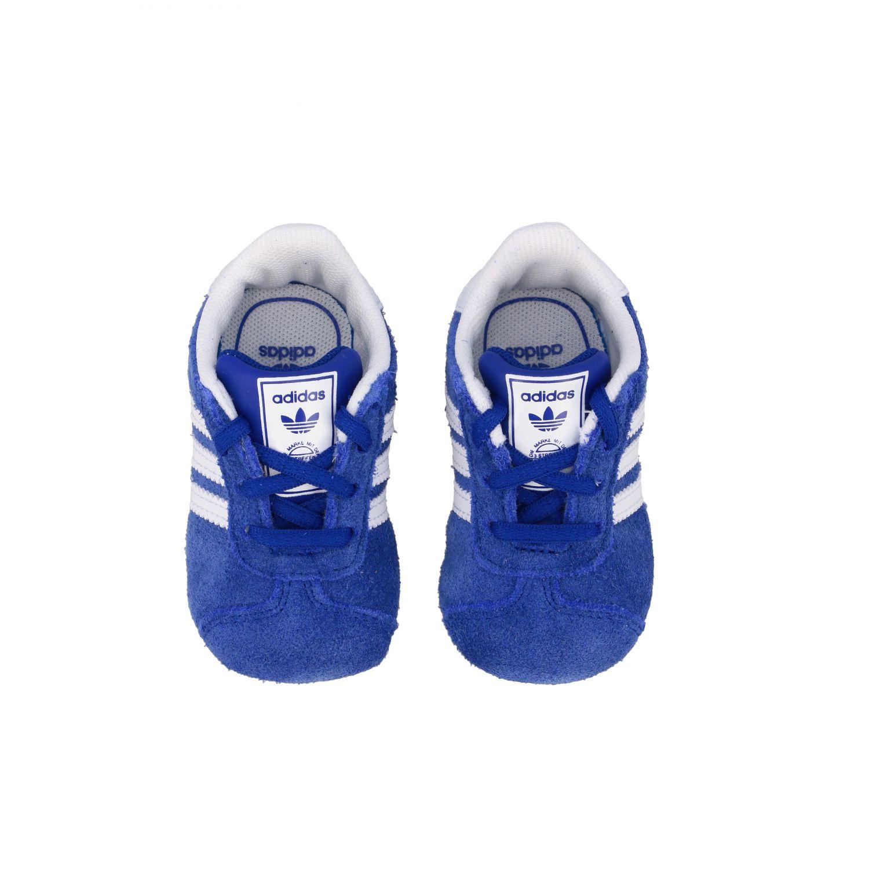 Scarpe Adidas Originals: Sneakers Gazelle Crib Adidas Originals in camoscio e pelle royal 3