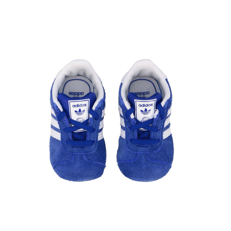 Baskets Gazelle Crib Adidas Originals en daim et cuir bleu royal 3
