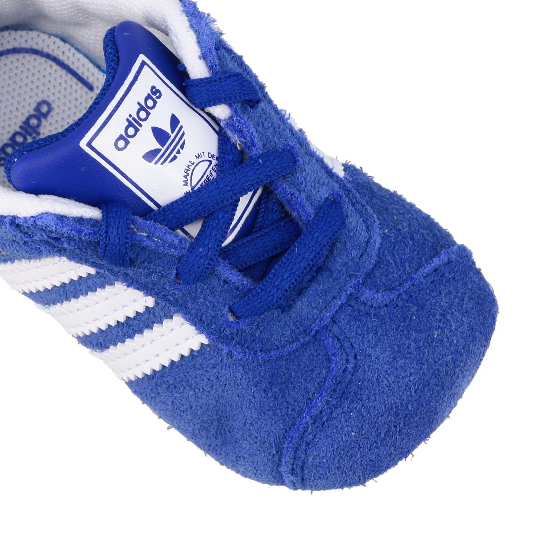 Baskets Gazelle Crib Adidas Originals en daim et cuir bleu royal 4