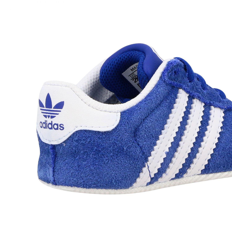 Scarpe Adidas Originals: Sneakers Gazelle Crib Adidas Originals in camoscio e pelle royal 5