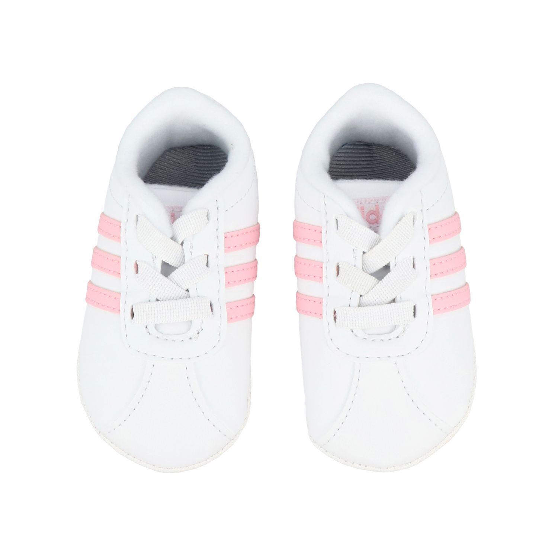 Scarpe Adidas Originals: Sneakers Vl Court 2.0 Crib Adidas Originals bianco 3