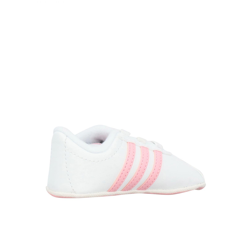 Scarpe Adidas Originals: Sneakers Vl Court 2.0 Crib Adidas Originals bianco 5