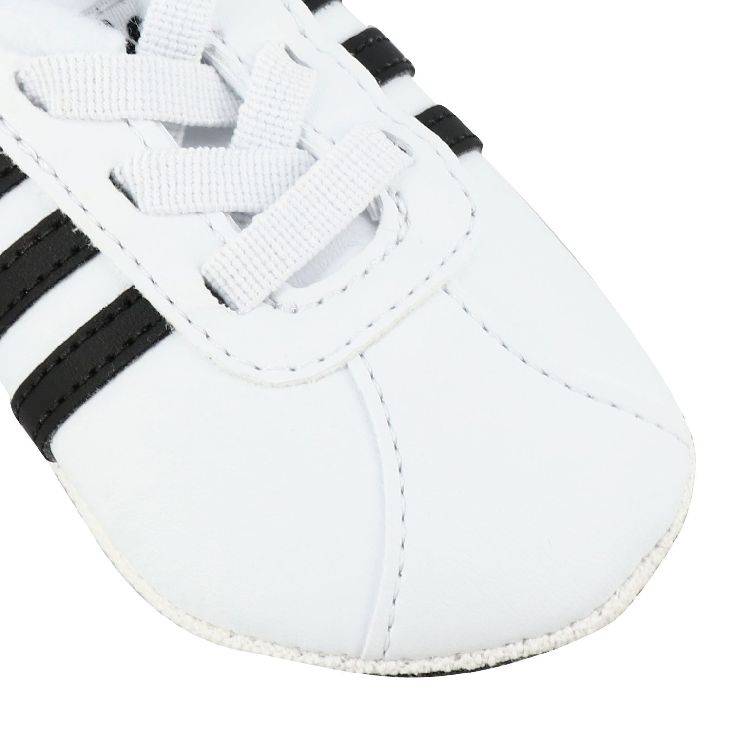 Zapatos Adidas Originals: Zapatos niños Adidas Originals blanco 4