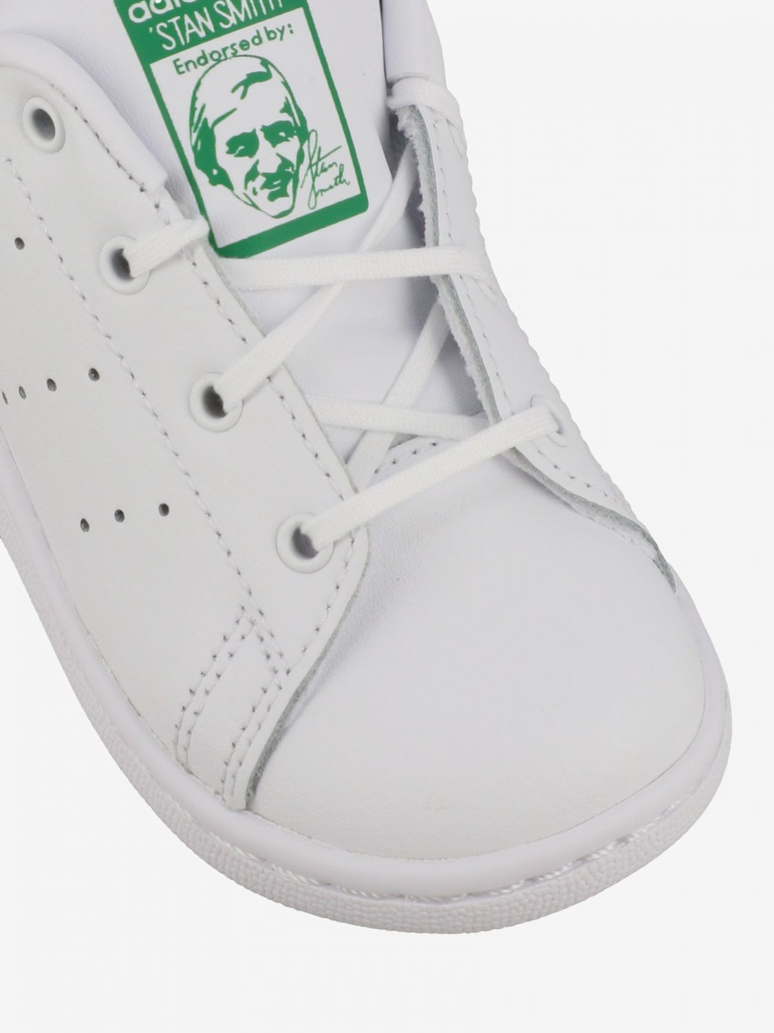 Shoes Adidas Originals: Stan smith Adidas Originals leather sneakers white 4