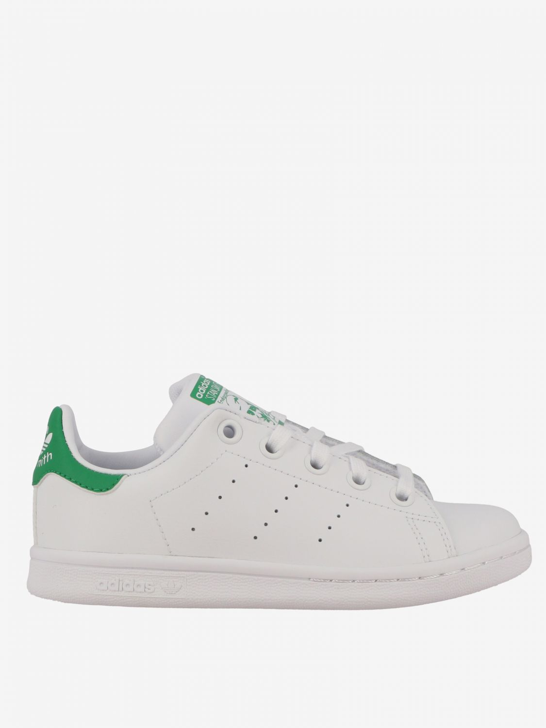 Shoes Adidas Originals: Stan smith Adidas Originals leather sneakers white 1