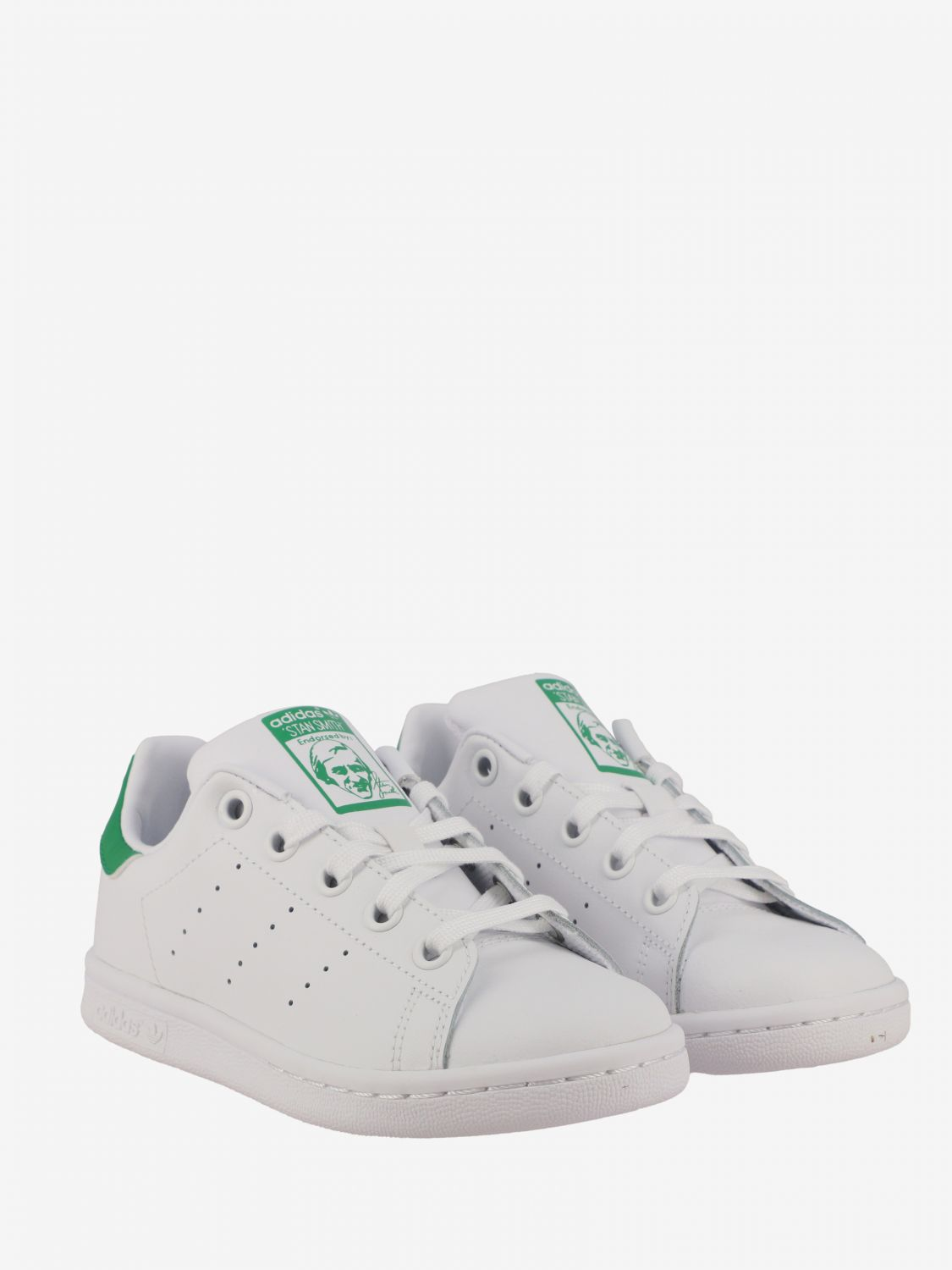 Shoes Adidas Originals: Stan smith Adidas Originals leather sneakers white 2