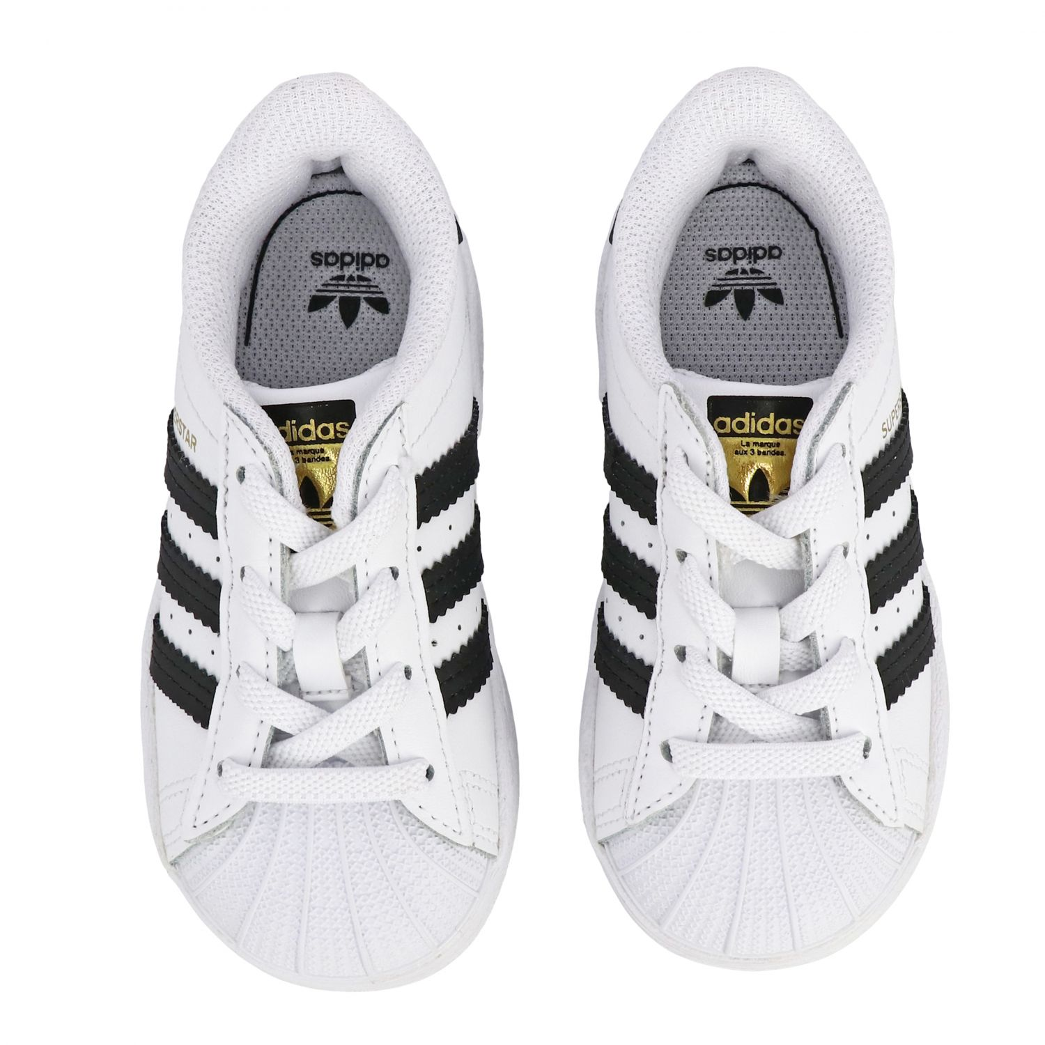 Shoes Adidas Originals: Superstar Adidas Originals leather sneakers white 3